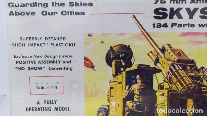 Maquetas: 75 mm anti-aircraft gun skysweeper renwal. Nuevo, caja precintada - Foto 2 - 228563275