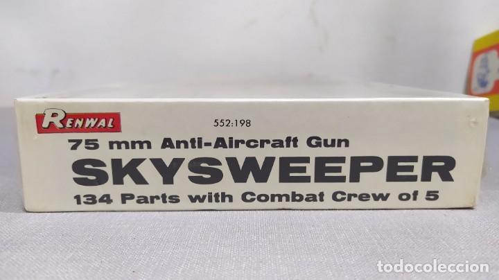 Maquetas: 75 mm anti-aircraft gun skysweeper renwal. Nuevo, caja precintada - Foto 3 - 228563275