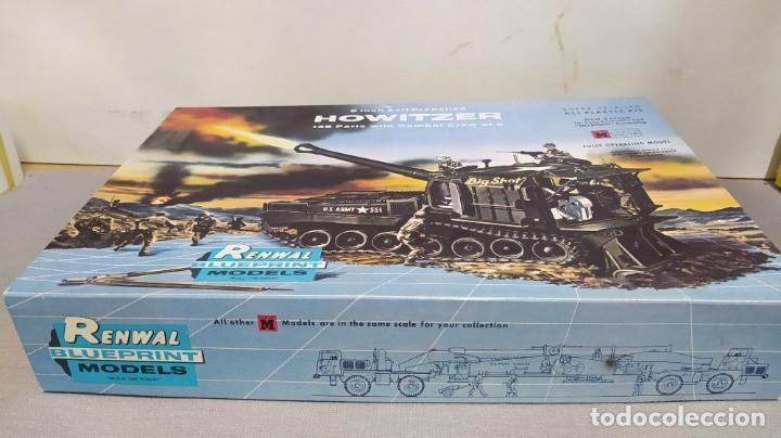 Maquetas: 8 inch self propelled howitzer renwal blue print models. Nuevo - Foto 2 - 228565590