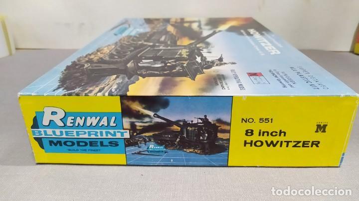 Maquetas: 8 inch self propelled howitzer renwal blue print models. Nuevo - Foto 3 - 228565590