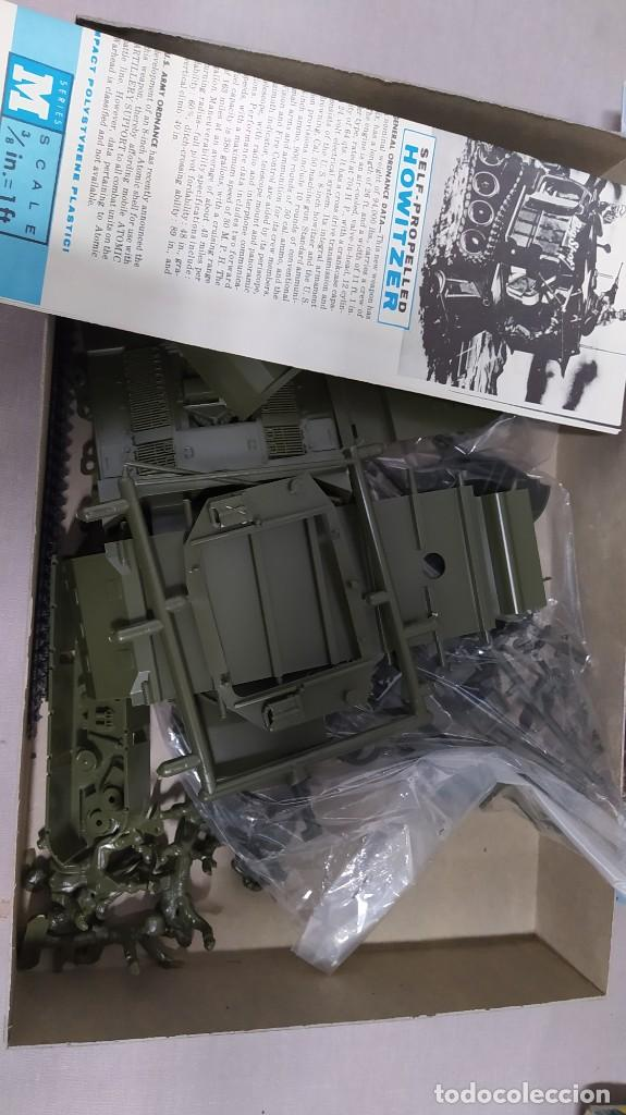 Maquetas: 8 inch self propelled howitzer renwal blue print models. Nuevo - Foto 5 - 228565590
