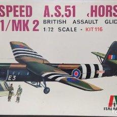 Maquetas: AIRSPEED A.S.51 HORSA MK1/MK2 ESCALA 1/72. BOLSA SIN ABRIR.. Lote 228570880