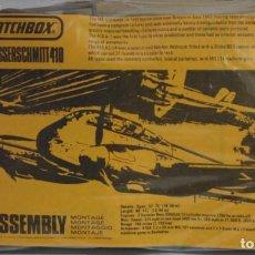 Maquetas: MAQUETA MATCHBOX MESSERSCHMITT ME-410 ESCALA 1/72. Lote 228572285