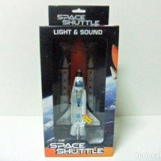 Maquetas: SPACE SHUTTLE LIGHT & SOUND JUGUETE NAVE TRANSBORDADOR ESPACIAL DISCOVERY JATO NASA JOHNTOY ESPACIO. Lote 228665940