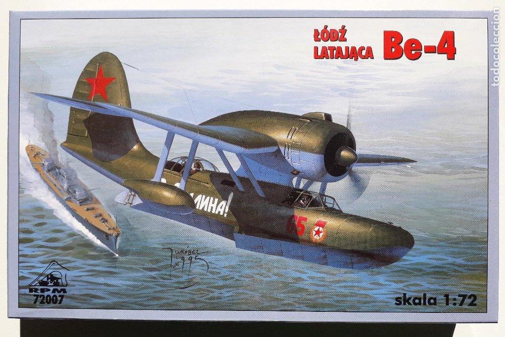 BERIEV BE-4 (KOR-2) 1/72 RPM (Juguetes - Modelismo y Radio Control - Maquetas - Aviones y Helicópteros)