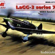 Maquetas: MAQUETA DEL CAZA SOVIÉTICO LAGG-3 (SERIES 7 A 11) DE ICM A ESCALA 1/48 (NUEVA PRESENTACIÓN). Lote 229040590
