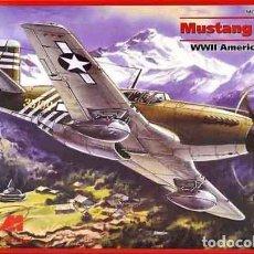 Maquetas: MAQUETA DEL CAZA NORTH AMERICAN P-51A MUSTANG DE ICM A ESCALA 1/48. Lote 229041275