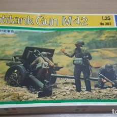 Maquetas: MAQUETA ANTITANK GUN M42 ITALERI. Lote 229089780