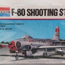 Maquetas: F-80 SHOOTING STAR 1/48 MONOGRAM.AÑO 1977 NUEVO. Lote 229156108