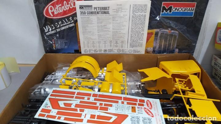 Maquetas: Peterbilt 359 conventional 1/16 monogram.año 1980, Nuevo. - Foto 3 - 229168275