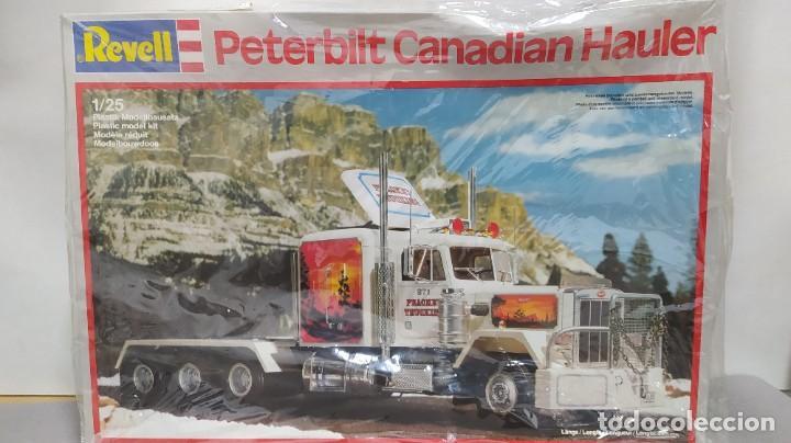 PETERBILT CANADIAN HAULER REVELL 1/25. NUEVO, TODAS LAS BOLSAS PRECINTADAS. (Juguetes - Modelismo y Radiocontrol - Maquetas - Coches y Motos)