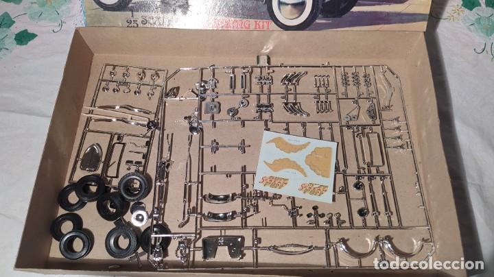 Maquetas: 34 Ford stock street rod 1/25 Aurora. 2 model in 1. Año 1963 . Nuevo sin montar. Completo - Foto 10 - 229239590