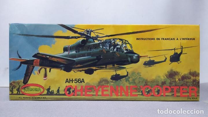 AH-56A CHEYENNE COPTER AURORA 502. NUEVO AÑO 68 (Juguetes - Modelismo y Radio Control - Maquetas - Aviones y Helicópteros)