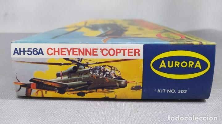 Maquetas: Ah-56a Cheyenne copter Aurora 502. Nuevo año 68 - Foto 3 - 229337010
