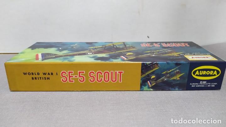 Maquetas: World War I British Se-5 scout Aurora. Año 1963. Nuevo - Foto 2 - 229338225