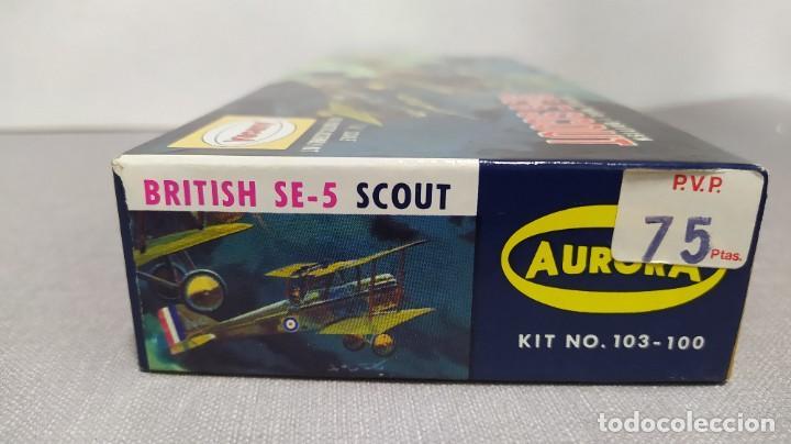 Maquetas: World War I British Se-5 scout Aurora. Año 1963. Nuevo - Foto 3 - 229338225