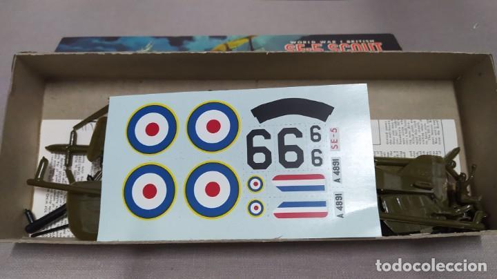 Maquetas: World War I British Se-5 scout Aurora. Año 1963. Nuevo - Foto 4 - 229338225