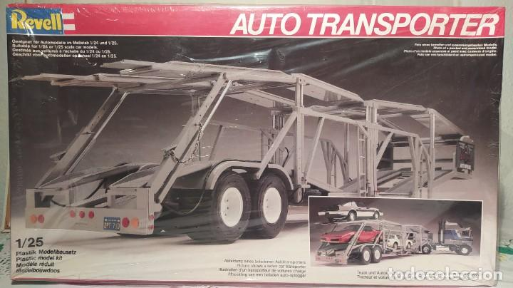 AUTO TRANSPORTER 1/25 REVELL 7537. NUEVO, AÑO 1983. (Juguetes - Modelismo y Radiocontrol - Maquetas - Coches y Motos)