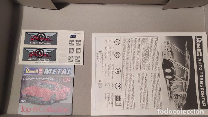 Maquetas: Auto transporter 1/25 Revell 7537. Nuevo, año 1983. - Foto 5 - 289416673