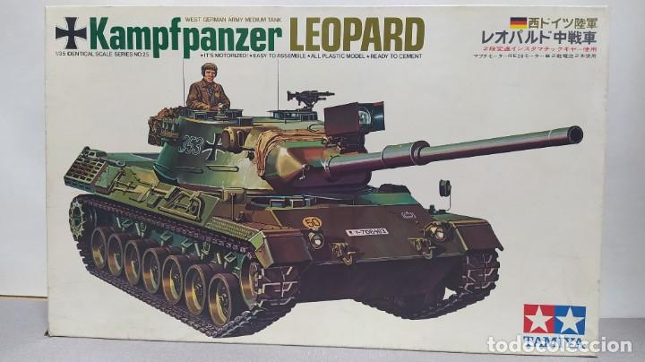 KAMPFPANZER LEOPARD MOTORIZADO 1/35 TAMIYA. NUEVO, BOLSAS SIN ABRIR. (Juguetes - Modelismo y Radiocontrol - Maquetas - Militar)