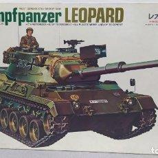 Maquetas: KAMPFPANZER LEOPARD MOTORIZADO 1/35 TAMIYA. NUEVO, BOLSAS SIN ABRIR.. Lote 230006810