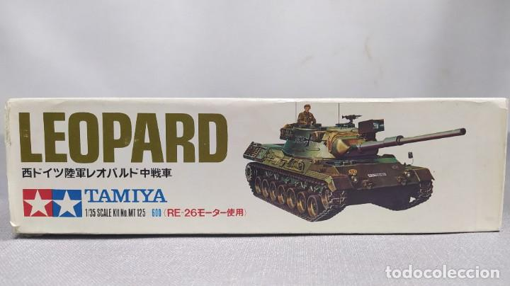 Maquetas: Kampfpanzer Leopard motorizado 1/35 tamiya. Nuevo, bolsas sin abrir. - Foto 2 - 230006810