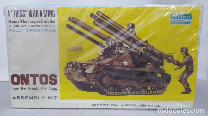 ONTOS MULTIPLE 106MM RECOILLES RIFLES. NUEVO. (Juguetes - Modelismo y Radiocontrol - Maquetas - Militar)