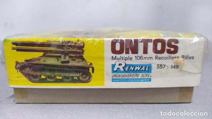 Maquetas: Ontos multiple 106mm recoilles rifles. Nuevo. - Foto 2 - 230013890