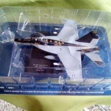 Maquetas: AVIÓN F/A 18E SUPER HORNET US NAVY. ESC. 1/100. SALVAT. NUEVO.. Lote 230036475