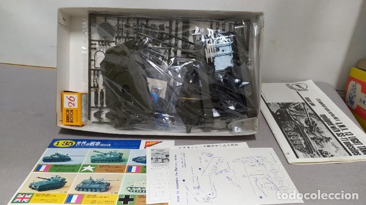 Maquetas: NICHIMO A.M.X.13 LIGHT TANK SS-11 MISSILES (1967) 1/35 MOTORIZED . Nuevo - Foto 4 - 230044530
