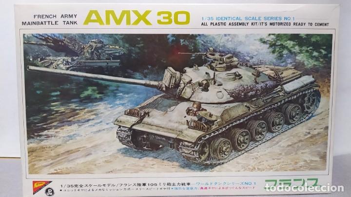 NICHIMO FRENCH ARMY TANK AMX 30 (1967) 1/35 MOTORIZED . NUEVO (Juguetes - Modelismo y Radiocontrol - Maquetas - Militar)