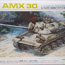 Maquetas: NICHIMO FRENCH ARMY TANK AMX 30 (1967) 1/35 MOTORIZED . NUEVO. Lote 230045555