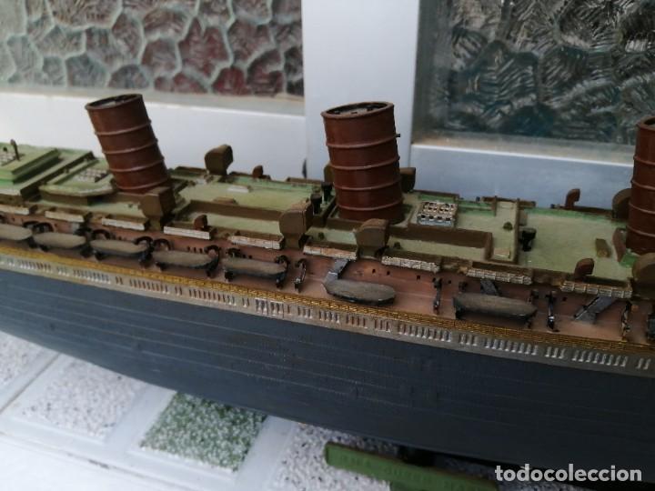 MAQUETA BARCO RMS QUEEN MARY (Juguetes - Modelismo y Radiocontrol - Maquetas - Barcos)
