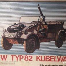 Maquetas: VW TYP82 KUBELWAGEN 1/9 ESCI. AÑO 1976. NUEVO. Lote 230429695