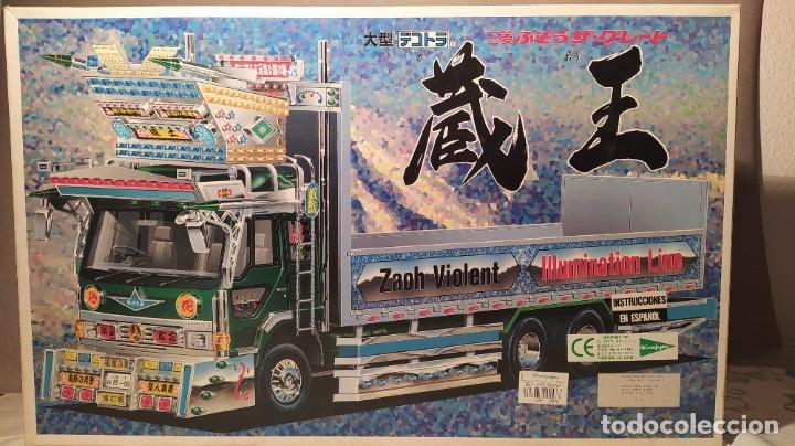MITSUBISHI FUSO THE DECOTORA 13 ZAOH 1/32 AOSHIMA. NUEVO (Juguetes - Modelismo y Radiocontrol - Maquetas - Coches y Motos)