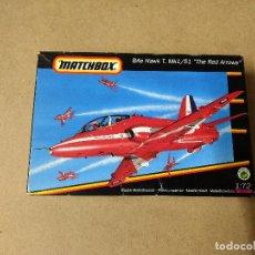 Maquetas: MAQUETA AVIÓN 1:72 MATCHBOX - BAE HAWK T. MK1/51 THE RED ARROWS. Lote 230762960