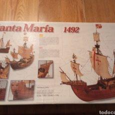 Maquetas: CARABELA SANTA MARIA - ARTESANIA LATINA. Lote 230922640