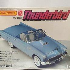 Maquetas: 1957 FORD THUNDERBIRD 1/18 MATCHBOX AMT. NUEVO, BOLSAS SIN ABRIR.. Lote 231523595