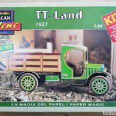Maquetas: TT ~ LAND, 1927 - ESCALA 1: 24 - ALCAN~MINI - MAQUETA PAPEL, SCALA MODEL - - PJRB. Lote 231735290