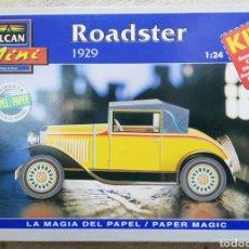 Maquetas: ROADSTER , 1929 - ESCALA 1: 24 - ALCAN~MINI - MAQUETA PAPEL, SCALA MODEL - - PJRB. Lote 231736190