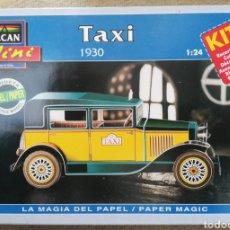 Maquetas: TAXI , 1930 - ESCALA 1: 24 - ALCAN~MINI - MAQUETA PAPEL, SCALA MODEL - - PJRB. Lote 231740095
