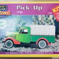 Maquetas: PICK UP , 1936 - ESCALA 1: 24 - ALCAN~MINI - MAQUETA PAPEL, SCALA MODEL - - PJRB. Lote 231740805