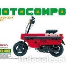 Maquettes: AOSHIMA - HONDA MOTOCOMPO 1981 1/12 33. Lote 231838290