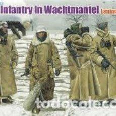 Maquettes: DRAGON - GERMAN INFANTRY IN WACHTMANTEL LENINGRADO 1943 1/35 6518. Lote 231843390