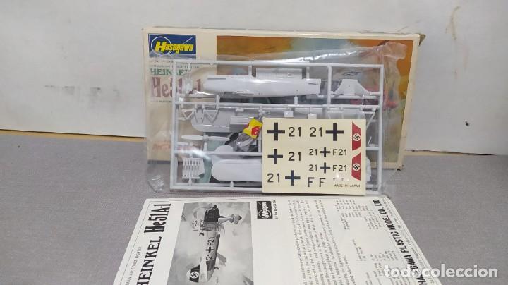 Maquetas: Heinkel he51a-1 escala 1/72 Hasegawa. Bolsas sin abrir. - Foto 3 - 232136065