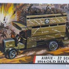 Maquetas: 1914 OLD BILL BUS AIRFIX-32 SCALE. NUEVO Y COMPLETO.. Lote 232277970