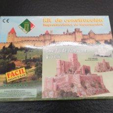 Macchiette: MAQUETA A ESCALA DEL CASTILLO DE ALMANSA. KIT DE CONSTRUCCIÓN. AEDES. REF. 1006 (ENVÍO 4,31€). Lote 232604875