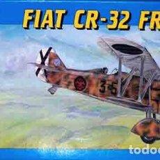 Macchiette: MAQUETA DEL CAZA ITALIANO FIAT CR-32 CHIRRI ( GUERRA CIVIL, AS GARCÍA MORATO) DE SMER A 1/48. Lote 233162715
