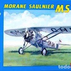Maquetas: MAQUETA DEL ENTRENADOR MORANE SAULNIER MS 230 DE SMER A 1/72 (GUERRA CIVIL, ESPAÑOLIZABLE). Lote 233163890