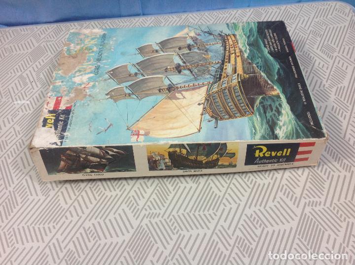 Maquetas: Antigua maqueta de barco de Revell . Nao Victoria - Foto 2 - 233256945